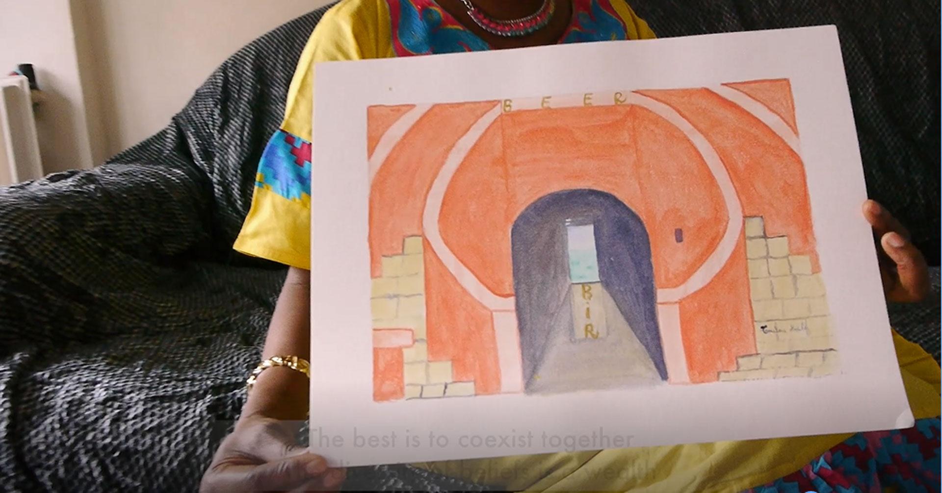 Diagne TOUTOU BAILA, The door of no return
