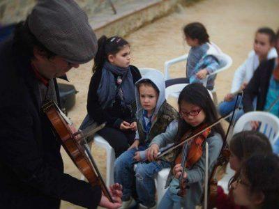 Bernardu Panzzoni cous de violon
