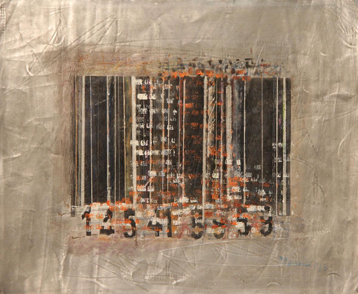 Code-barres-1, «Âme-preintes» Serie - Mboa O Maurice, Arts and Society
