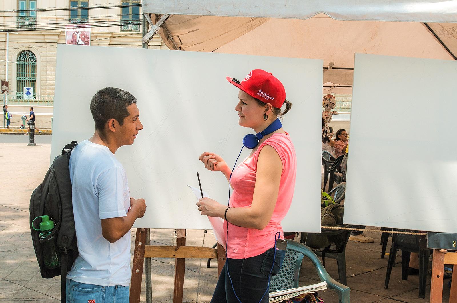 El Salvador-3, Maria Rosa Szychowska, Arts and Society