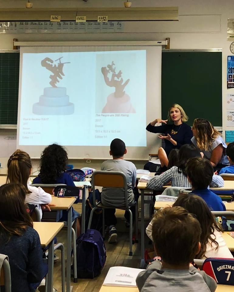 School talk - L'AiR Arts