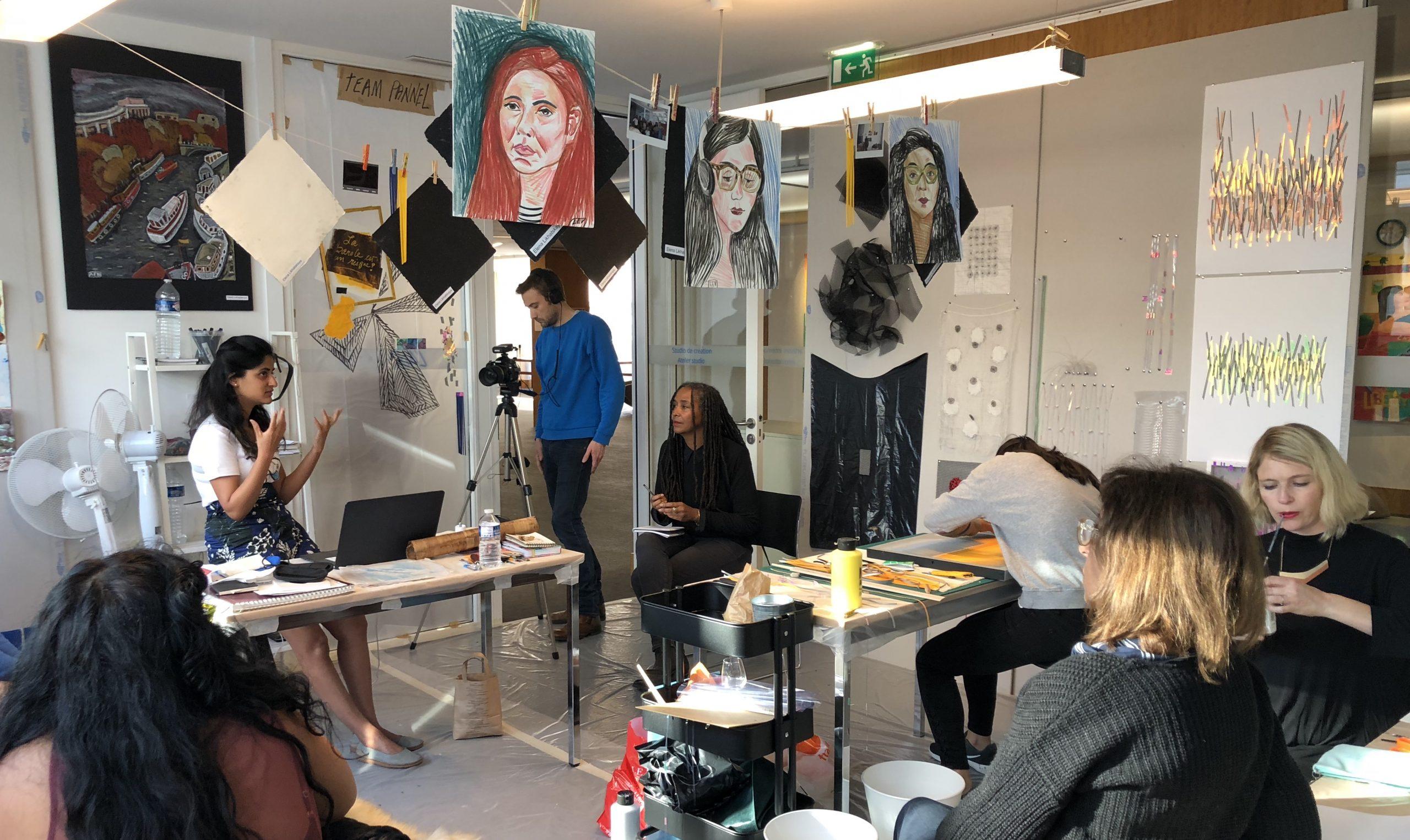 Studio visits - L'AiR Arts